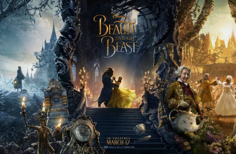 Disney Release Gorgeous Beauty And The Beast Character Poster Collection