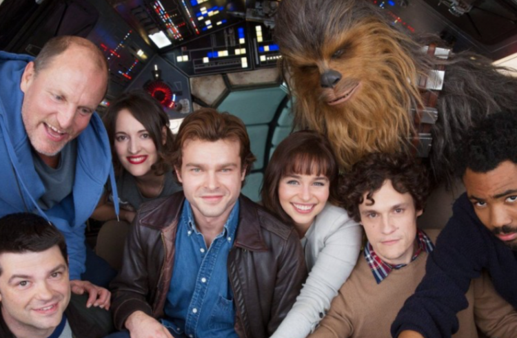 Production On Han Solo Star Wars Story Gets Underway