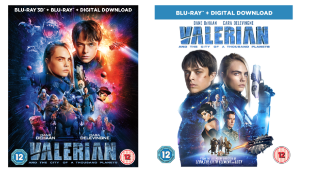 Valerian Home Entertainment Release Details