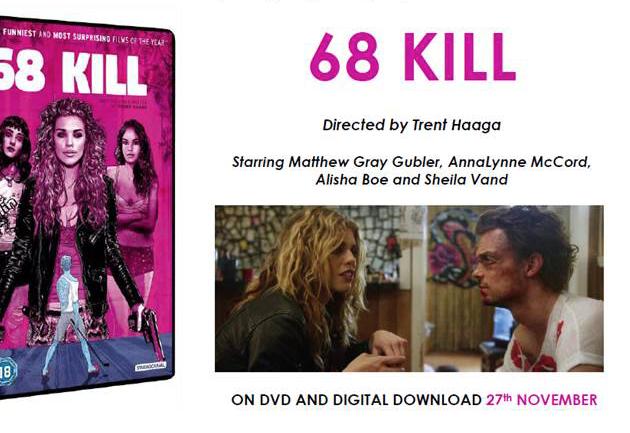 68 Kill Home Entertainment Release Details