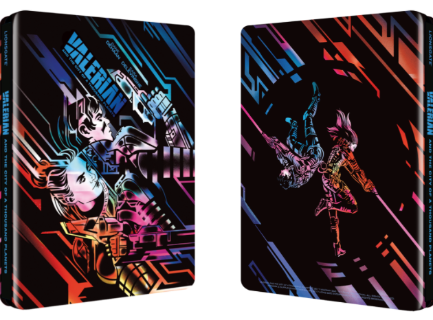 Check Out This Awesome Valerian Steelbook Set For Release