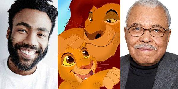 Donald Glover & James Earl Jones Cast In Lion King Reboot