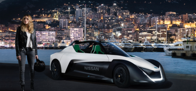 Margot Robbie Is The New Face Of Nissan Electric Cars…