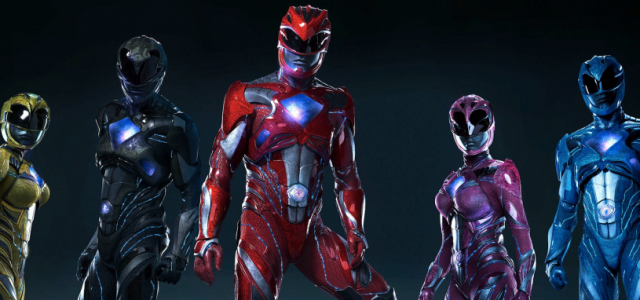 Go Behind The Scenes With The Power Rangers
