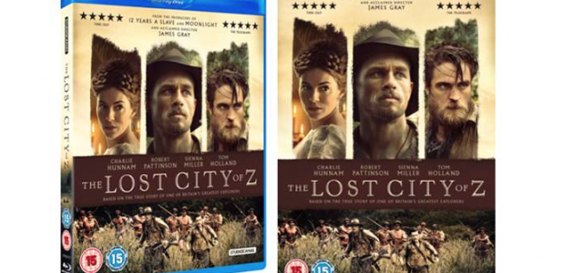The Lost City Of Z Home Entertainment Release Details