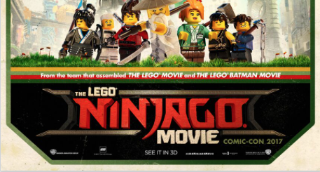 New LEGO Ninjago Movie Poster Features A Giant Cat!