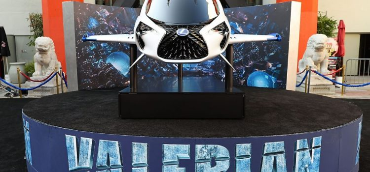 Lexus' Skyjet Arrives At The Valerian Premiere