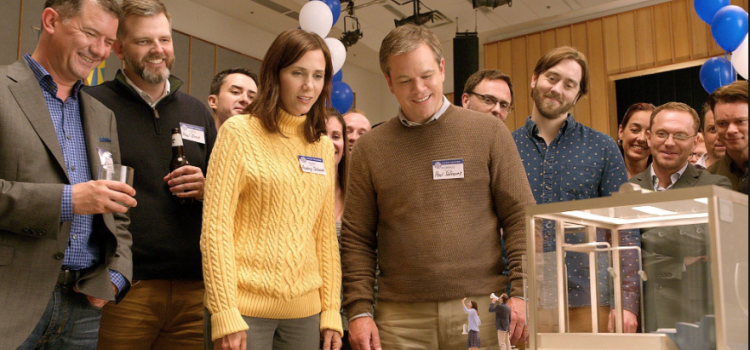 Matt Damon Shrinks In Trailer For Alexander Payne's Downsizing