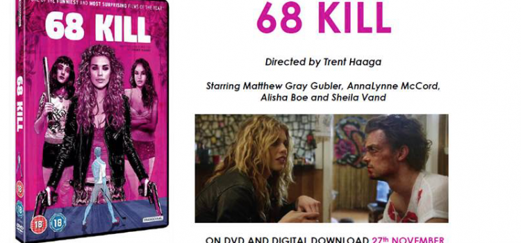 68 Kill Home Entertainment Release Details