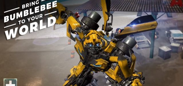 New Transformers Augmented Reality App Released By Paramount