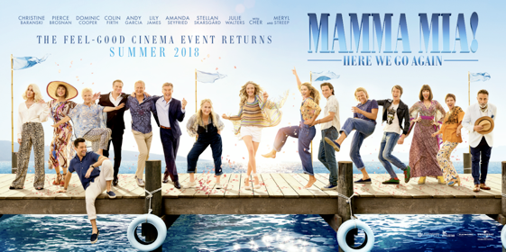Watch The Trailer For Mamma Mia! Here We Go Again