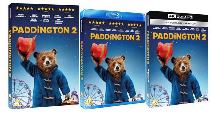 Paddington 2 Home Entertainment Release Details