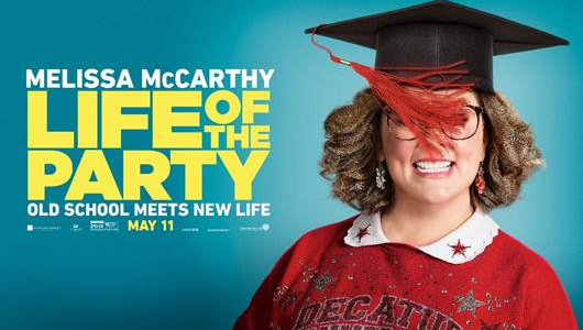 First Trailer Arrives For Comedy Life Of The Party