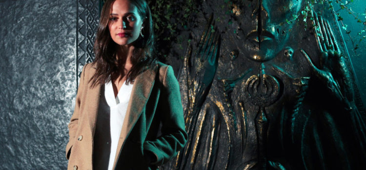 Alicia Vikander Unveils The Tomb Raider Experience