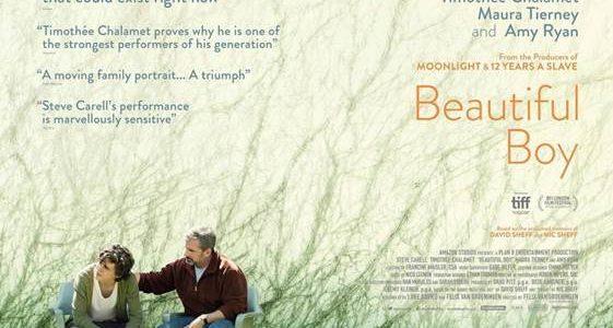 BEAUTIFUL BOY in Cinemas on January 18 2019