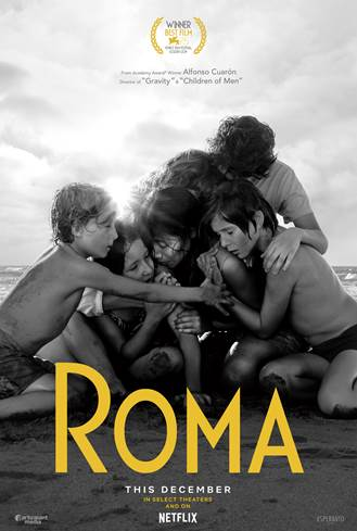 ROMA will be available in UK cinemas and on Netflix in December
