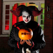"No Clowning Around NOW TV offers Brits the ultimate ""Do Not Disturb"" service this Halloween"