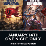 THE DEATH OF SUPERMAN and REIGN OF THE SUPERMEN – In UK cinemas January 14