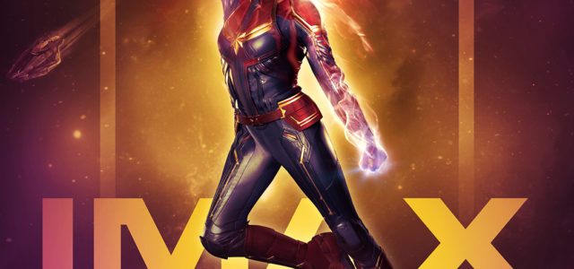 Brie Larson is Badass in IMAX's Exclusive Captain Marvel Artwork