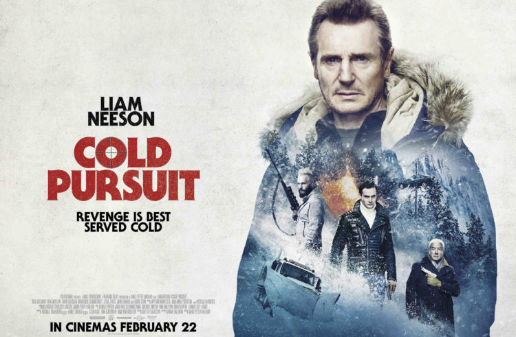 New Posters And Stills Released for COLD PURSUIT