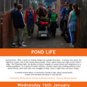 POND LIFE starring Esme Creed Miles To Be Released In UK Cinemas On 26 April 2019
