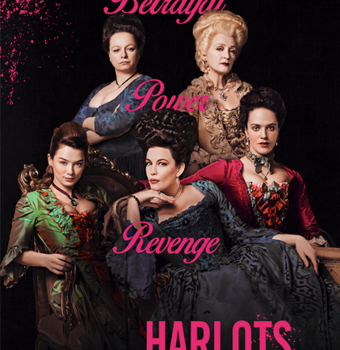UK PREMIERE OF US HIT SERIES HARLOTS EXCLUSIVELY ON STARZPLAY THIS VALENTINE'S DAY