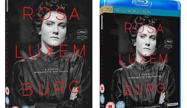 ROSA LUXEMBURG On Blu-ray, DVD & Digital Download from 4th February 2019