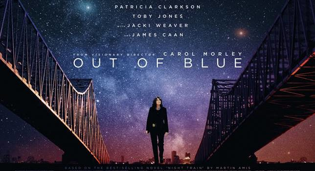 WORLDWIDE TRAILER AND POSTER LAUNCH FOR CAROL MORLEY'S OUT OF BLUE