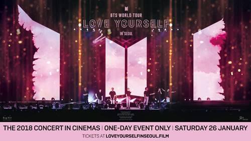 K-pop Sensation BTS's World Tour on the Big Screen