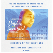CHILDREN OF THE SNOW LAND In UK Cinemas and On Demand from 14 March 2019