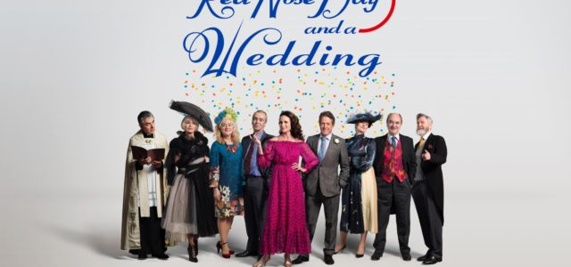 ONE RED NOSE DAY AND A WEDDINGFIRST GLIMPSE OF THE ORIGINAL CAST REVEALED