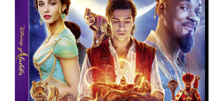 DISNEY'S ALADDIN  IS RELEASED ON DIGITAL DOWNLOAD TODAY!