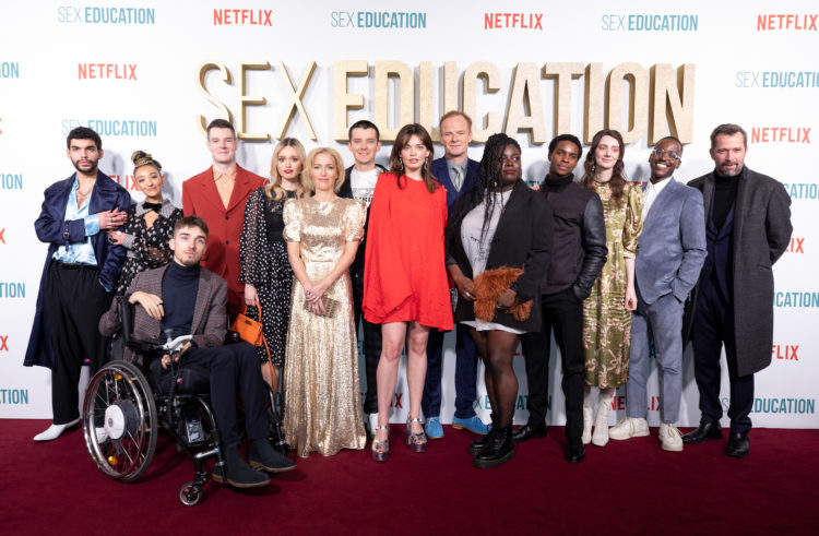 SEX EDUCATION WORLD PREMIERE IMAGES RELEASED