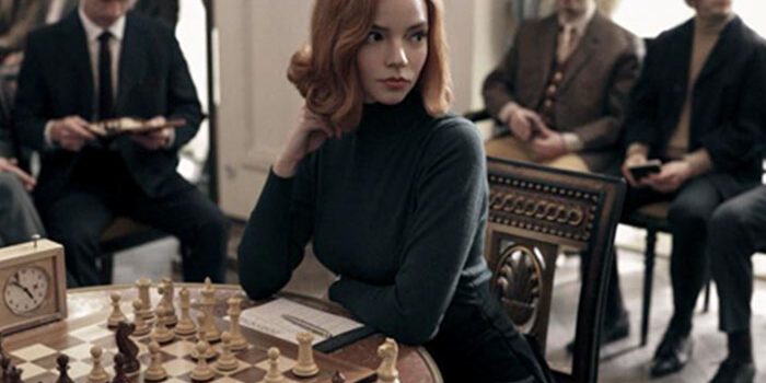 The Queen's Gambit, the Netflix series celebrating chess